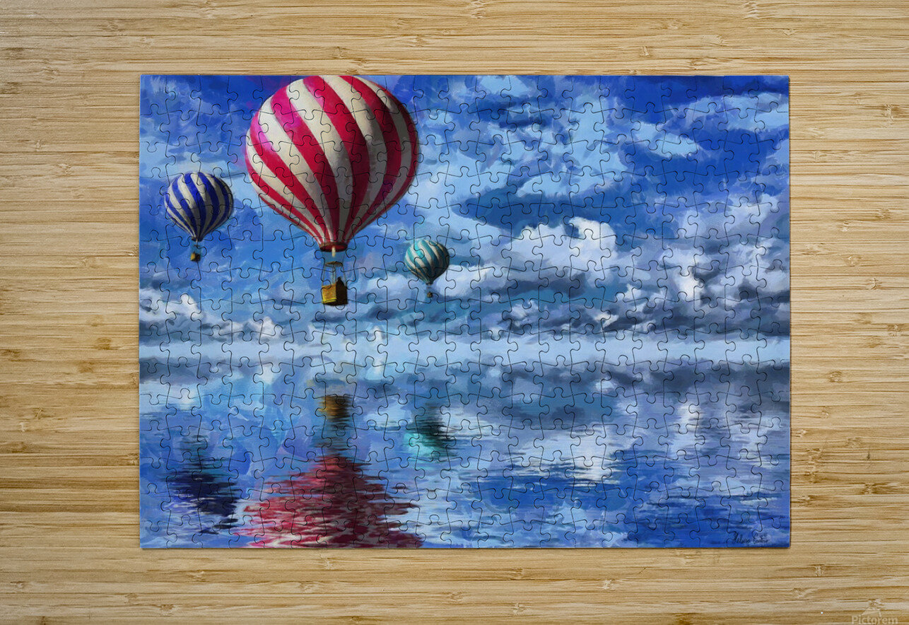 HC0250   HD Metal print with Floating Frame on Back