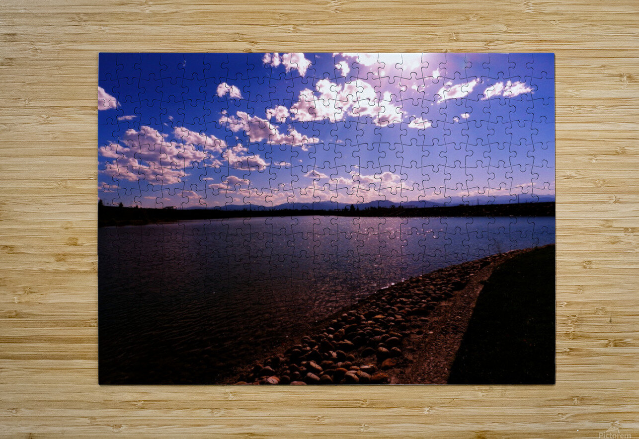 B (11)  HD Metal print with Floating Frame on Back
