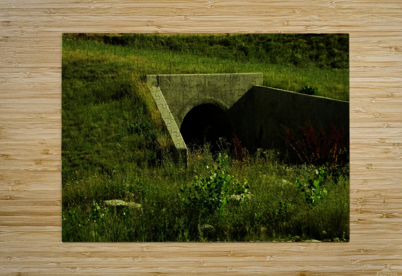 H (3)  HD Metal print with Floating Frame on Back