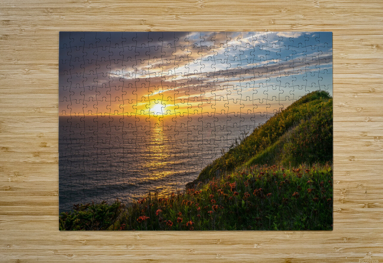 Glorious Light  HD Metal print with Floating Frame on Back