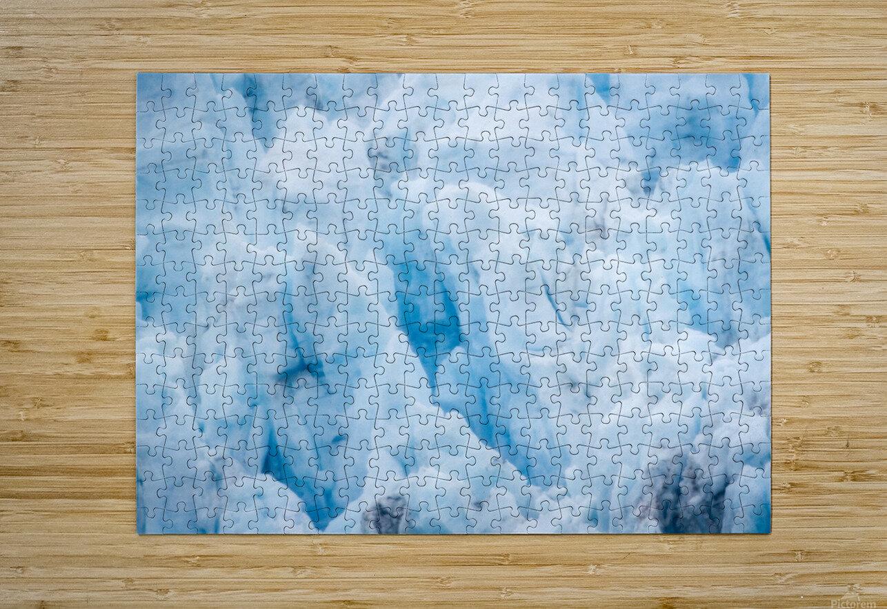 Alaska Gifts - Glacier Photographs  HD Metal print with Floating Frame on Back