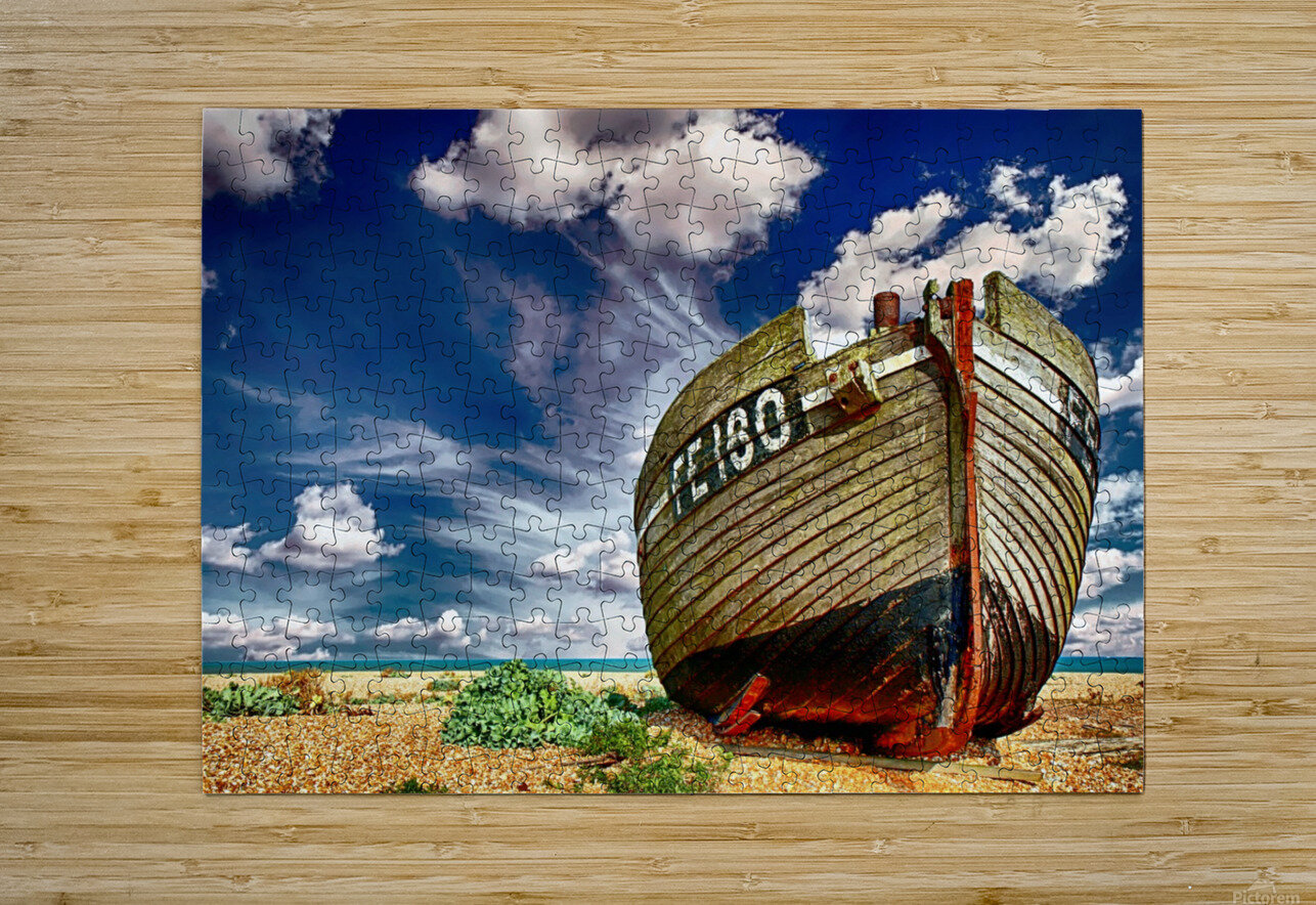 BOAT 01_OSG  HD Metal print with Floating Frame on Back
