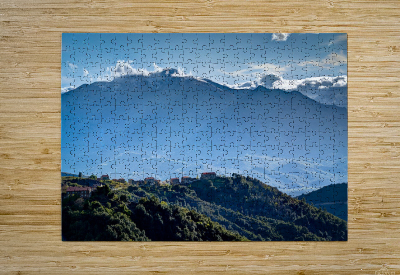 Corsica  HD Metal print with Floating Frame on Back