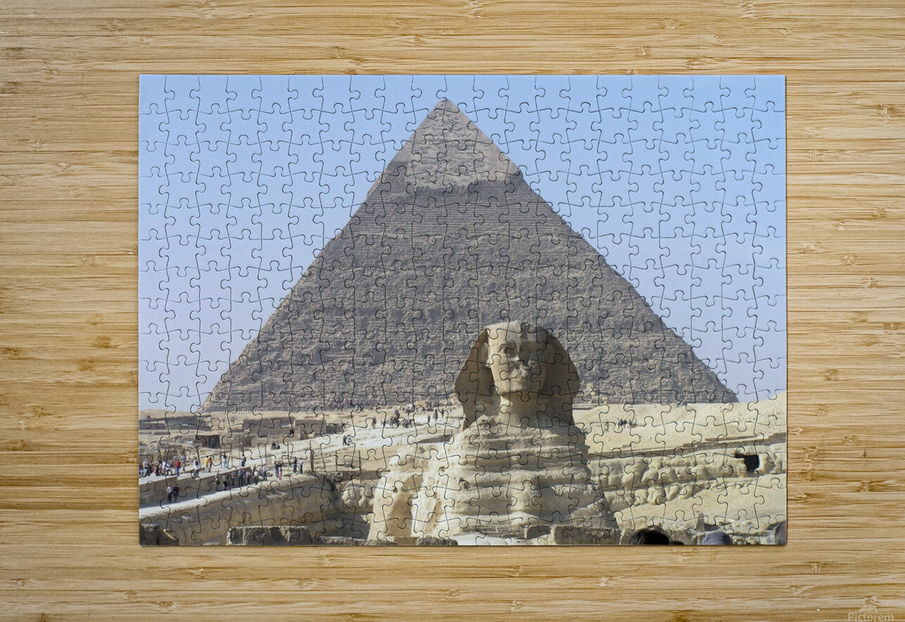 Egypt 3  HD Metal print with Floating Frame on Back