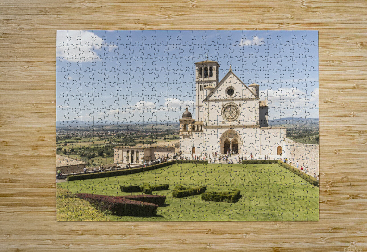 Assisi church  HD Metal print with Floating Frame on Back