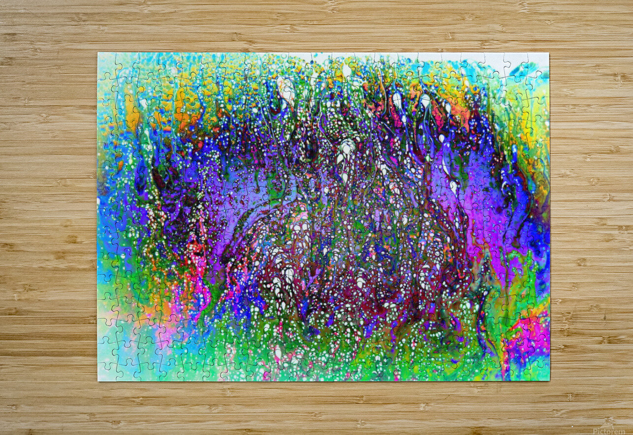 Bubbles Reimagined 61  HD Metal print with Floating Frame on Back