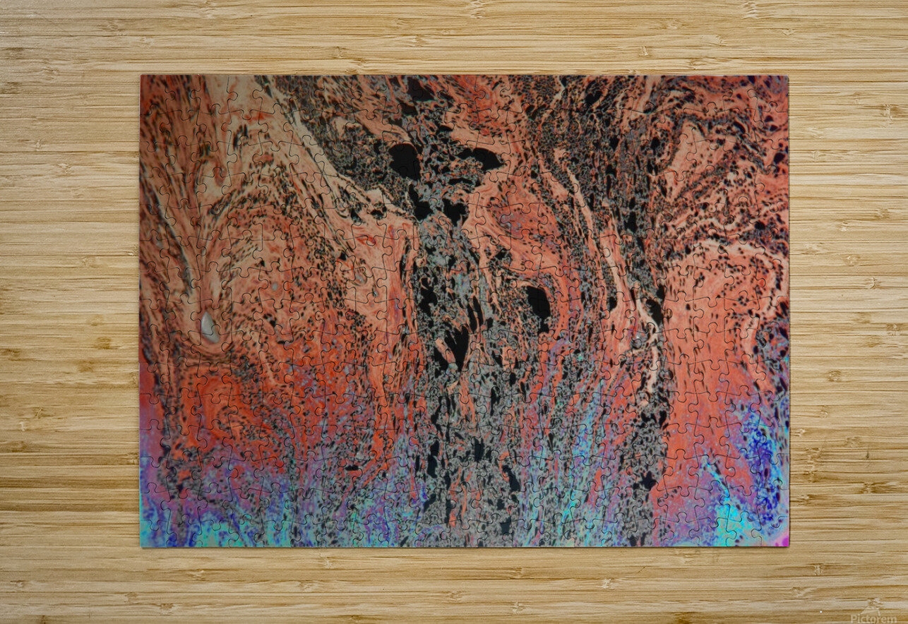 Bubbles Reimagined 19  HD Metal print with Floating Frame on Back