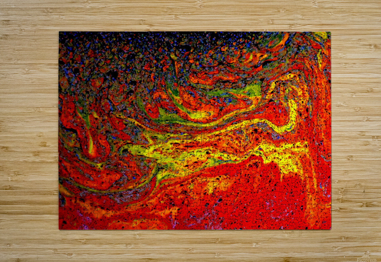 Bubbles Reimagined 67  HD Metal print with Floating Frame on Back