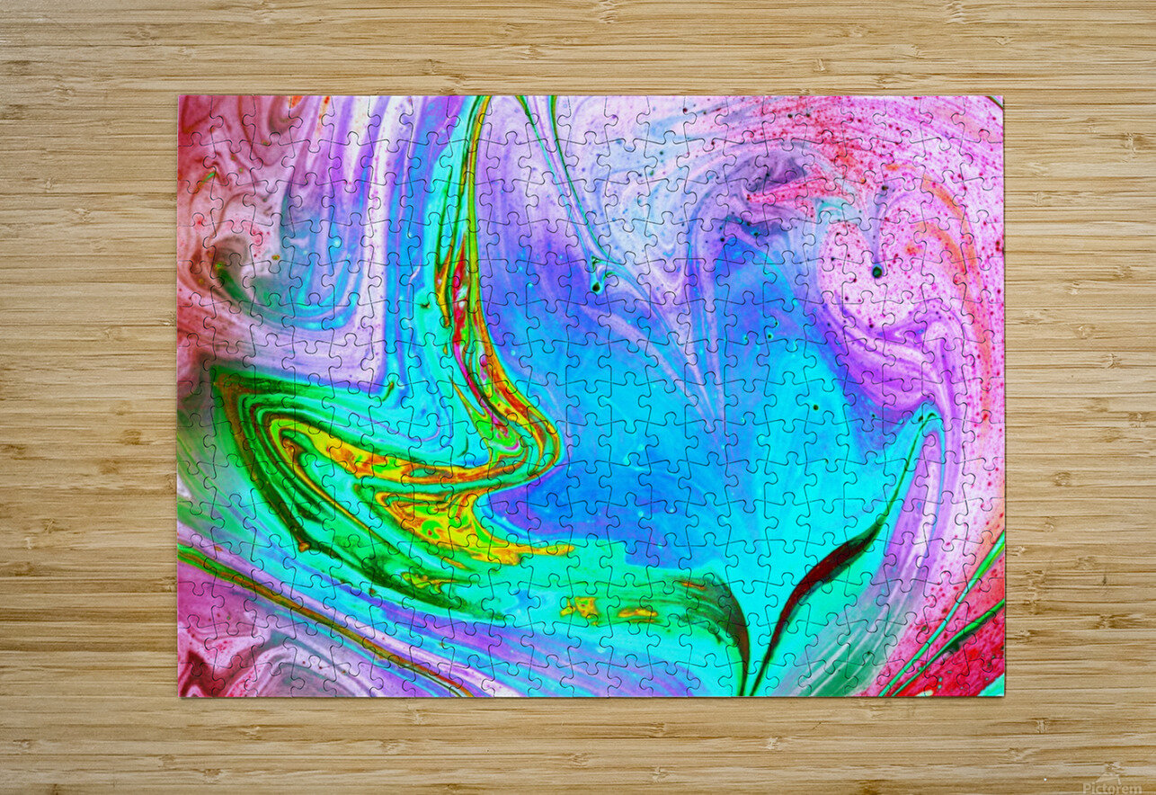 bubbles Reimagined 65  HD Metal print with Floating Frame on Back