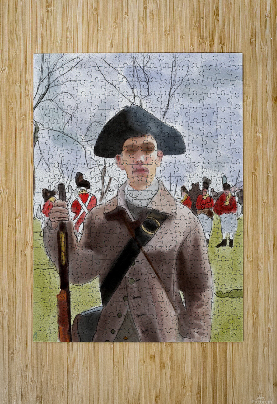 Lexington Sam  HD Metal print with Floating Frame on Back