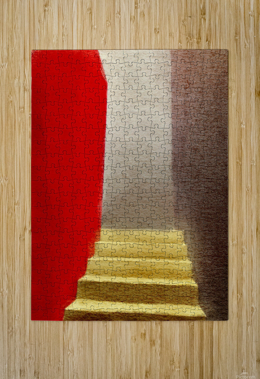 Mexico Oaxaca Stairway  HD Metal print with Floating Frame on Back