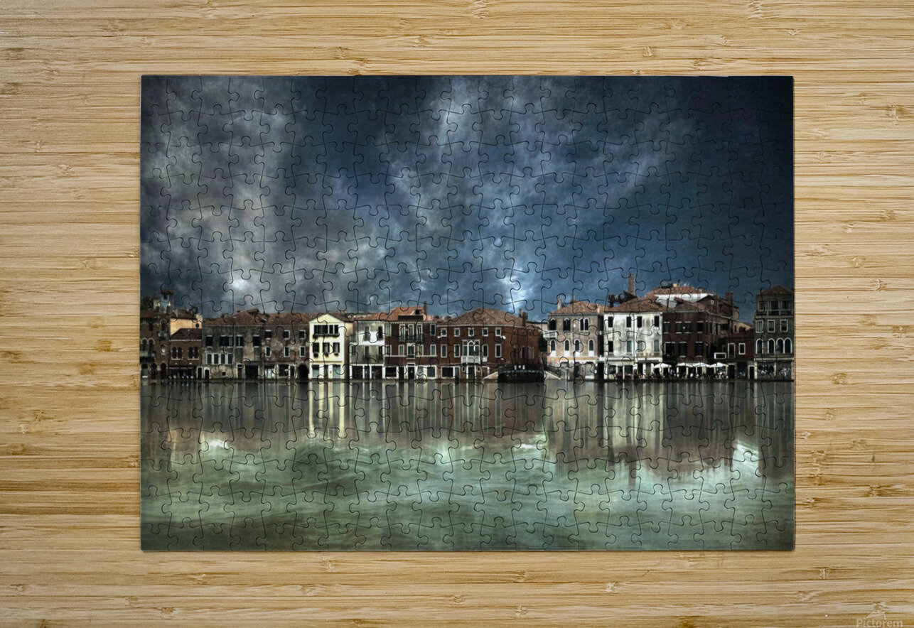 Reflections in Venice  HD Metal print with Floating Frame on Back