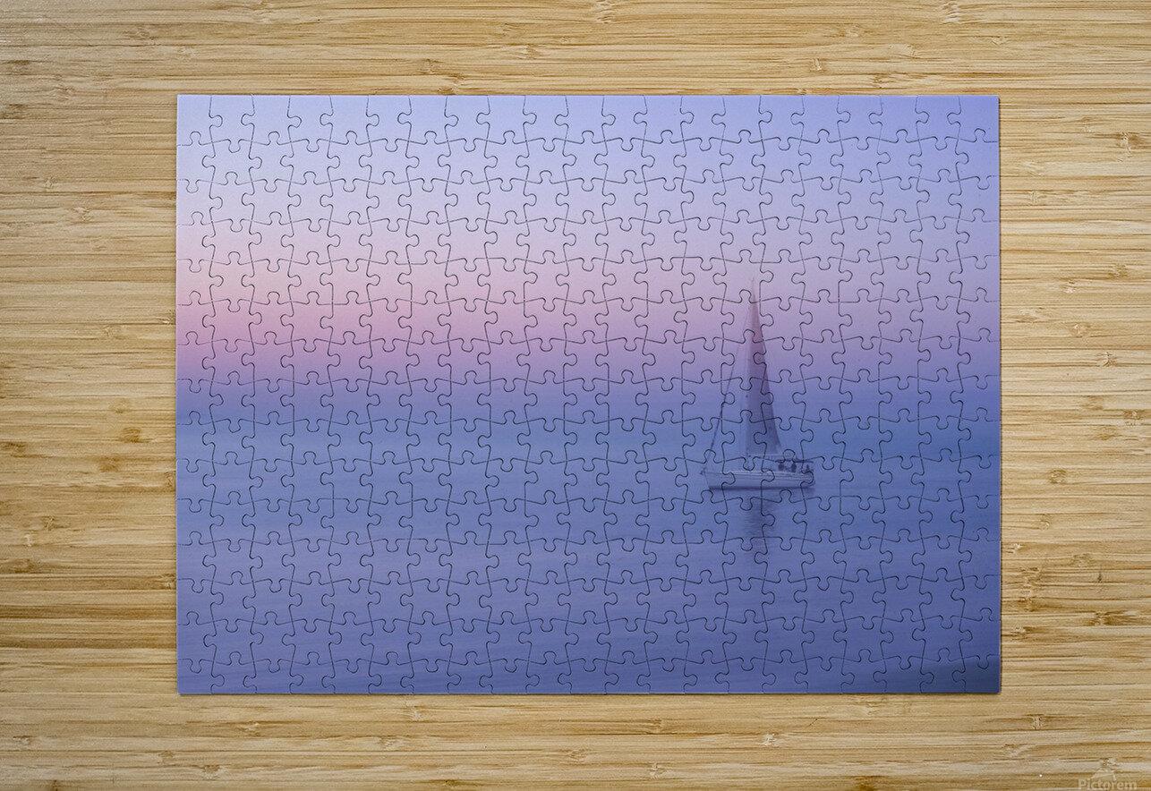 Sliema, Malta  HD Metal print with Floating Frame on Back