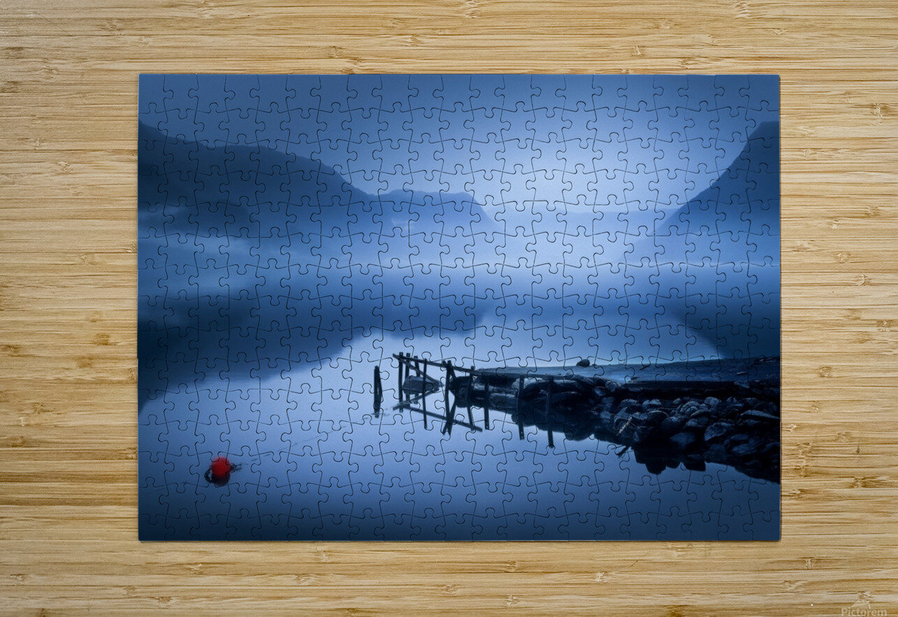 Tranquility  HD Metal print with Floating Frame on Back