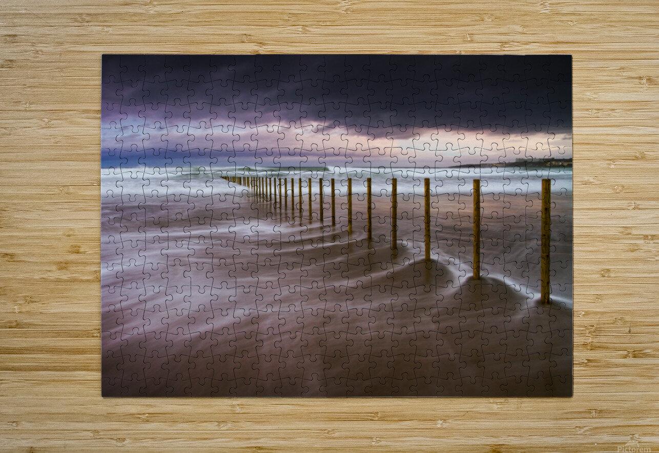 Portstewart Strand  HD Metal print with Floating Frame on Back