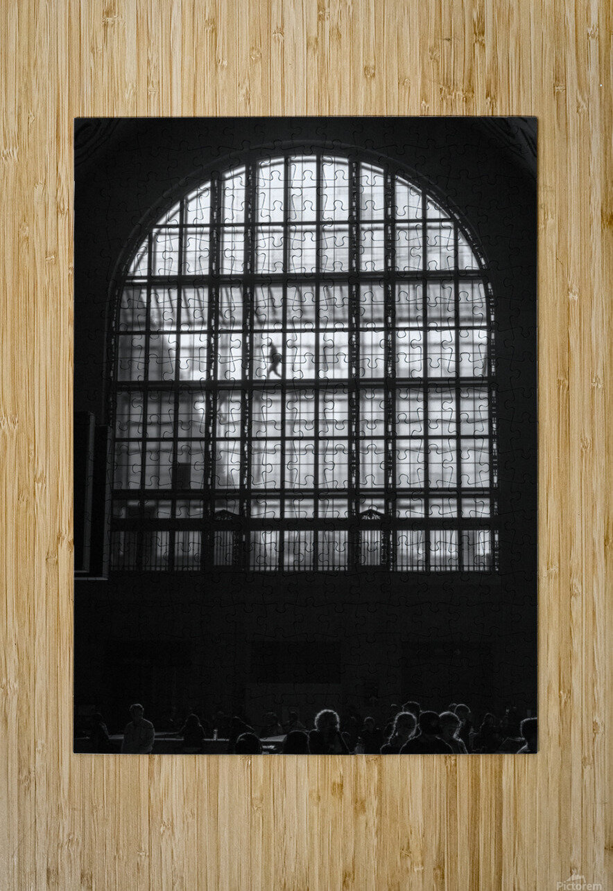 Toronto Union Station  HD Metal print with Floating Frame on Back