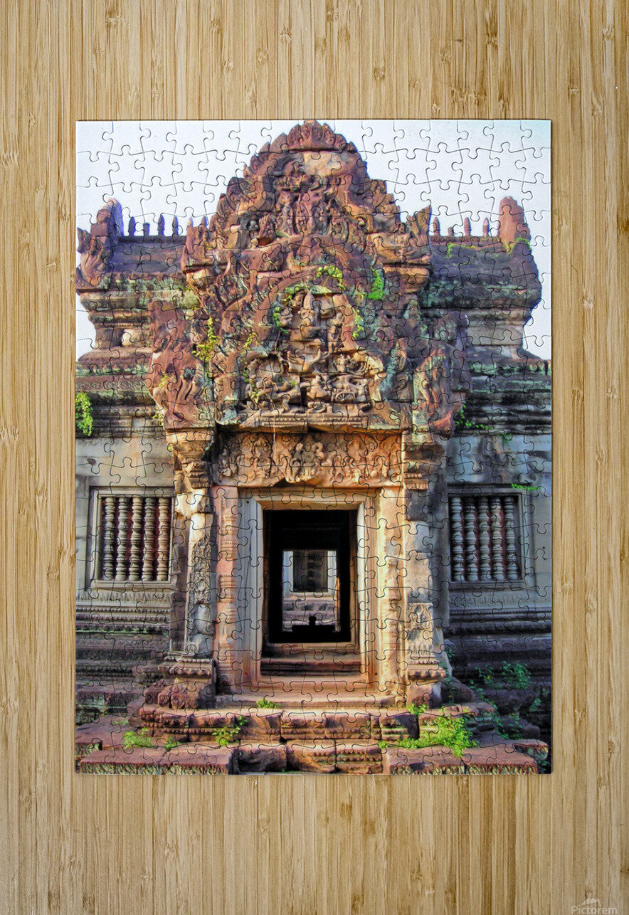 Cambodia28  HD Metal print with Floating Frame on Back