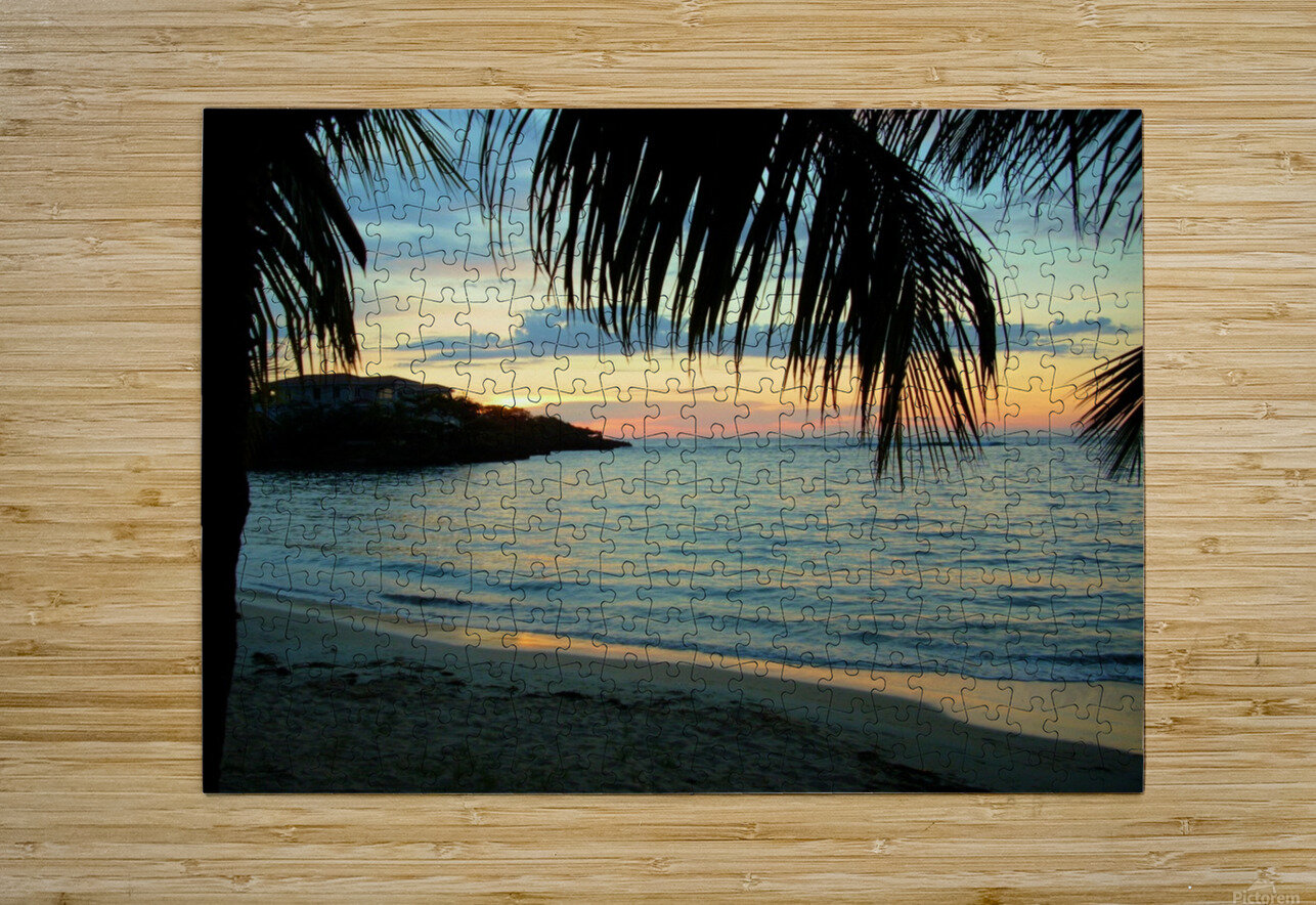 Sunset11  HD Metal print with Floating Frame on Back
