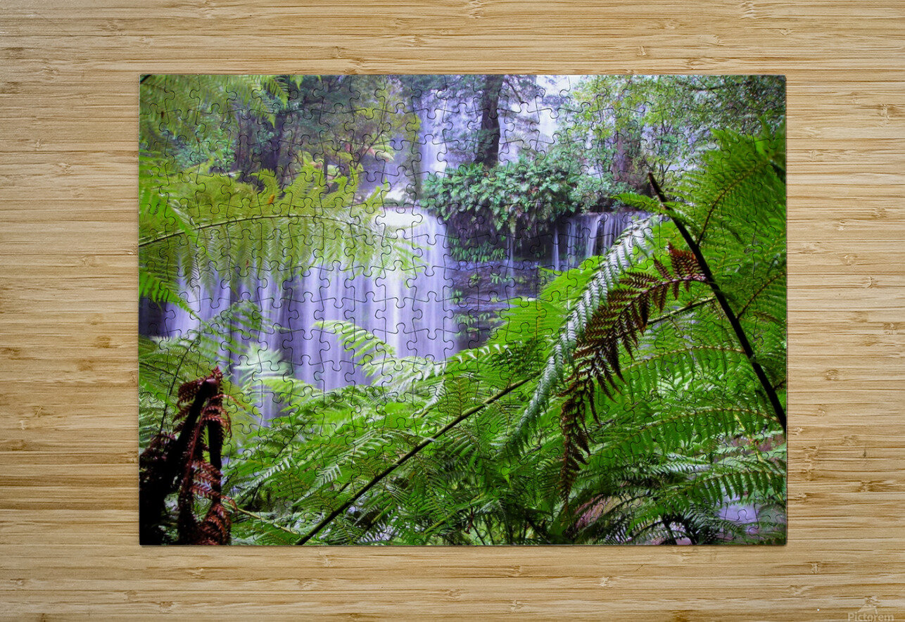 Waterfall3  HD Metal print with Floating Frame on Back
