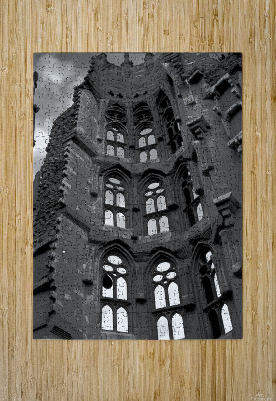 The Sagrada Familia   HD Metal print with Floating Frame on Back