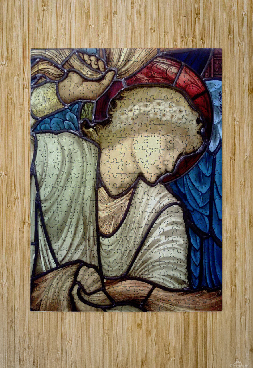 Edward Burne Jones 14  HD Metal print with Floating Frame on Back