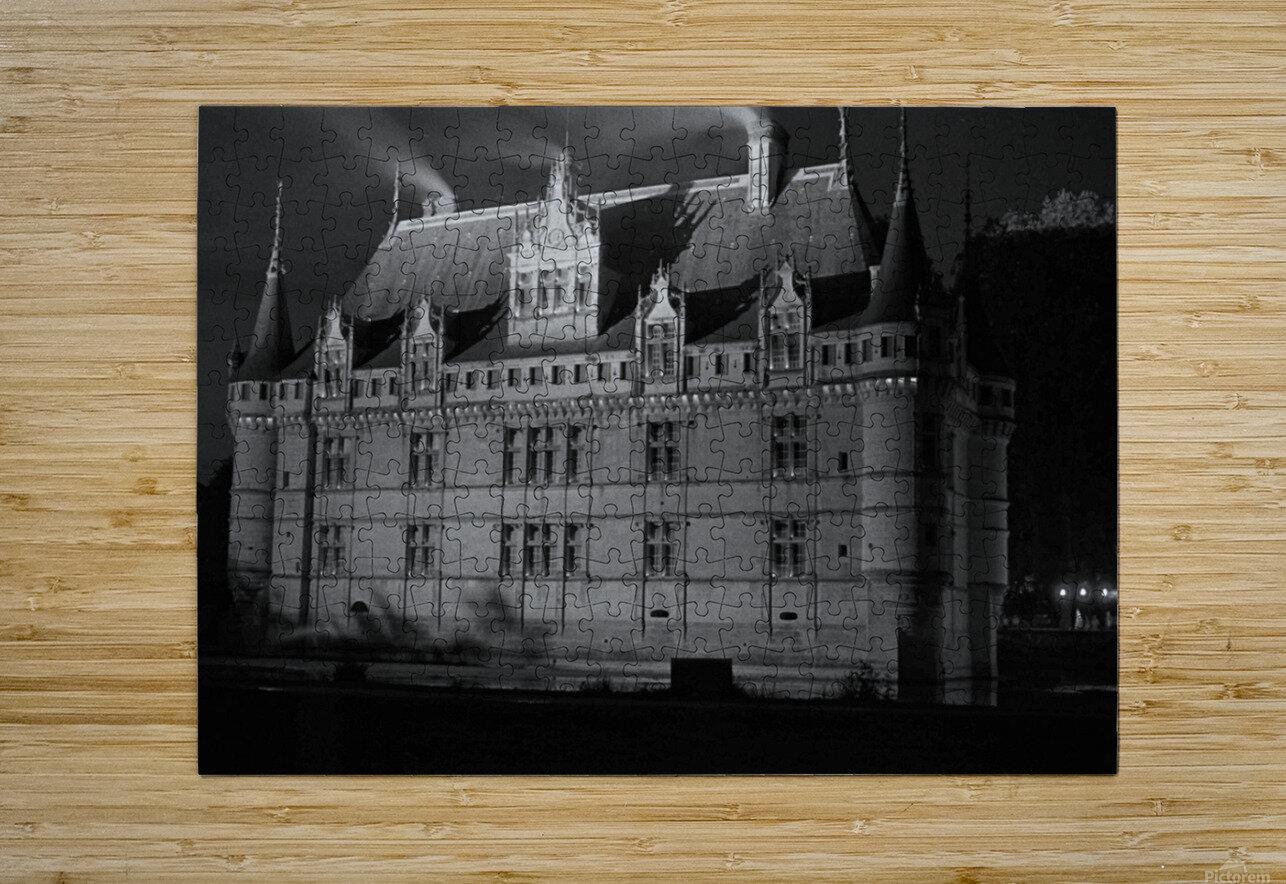 Azay le Rideau   Châteaux de la Loire   HD Metal print with Floating Frame on Back