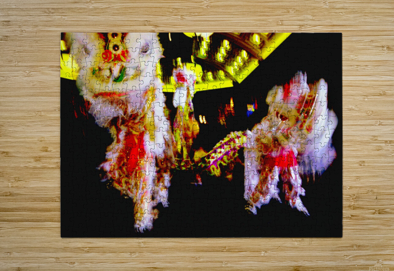 Chinese New Year  HD Metal print with Floating Frame on Back