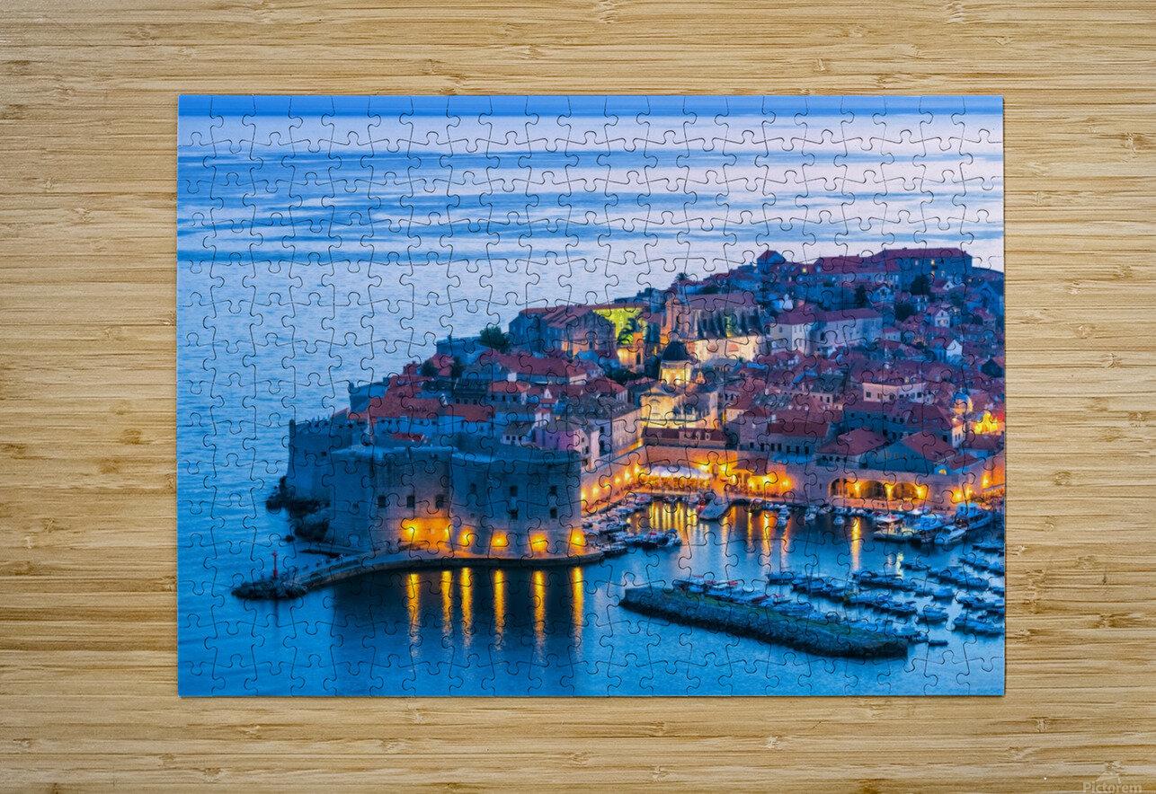 DUBROVNIK 07  HD Metal print with Floating Frame on Back