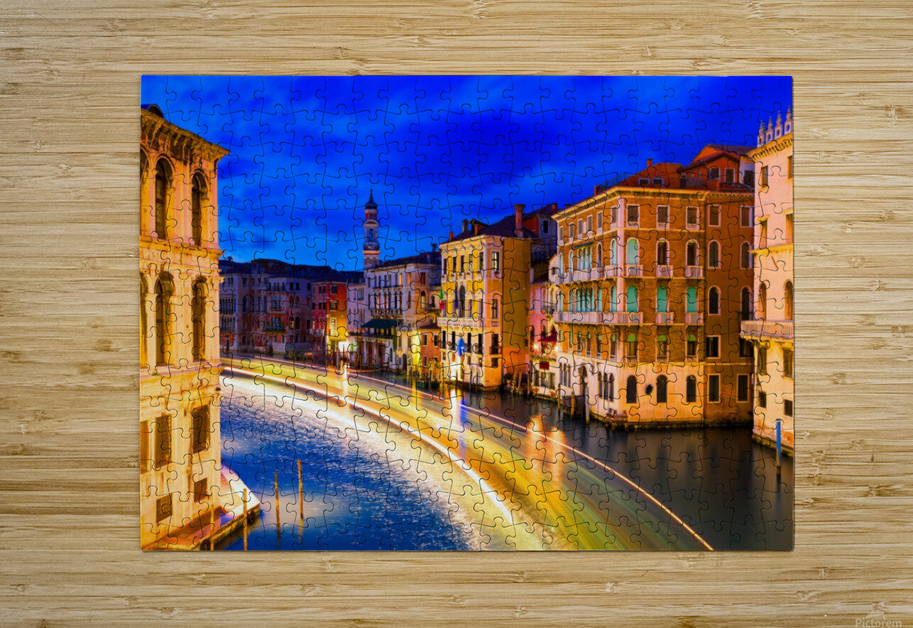 VENICE 02  HD Metal print with Floating Frame on Back
