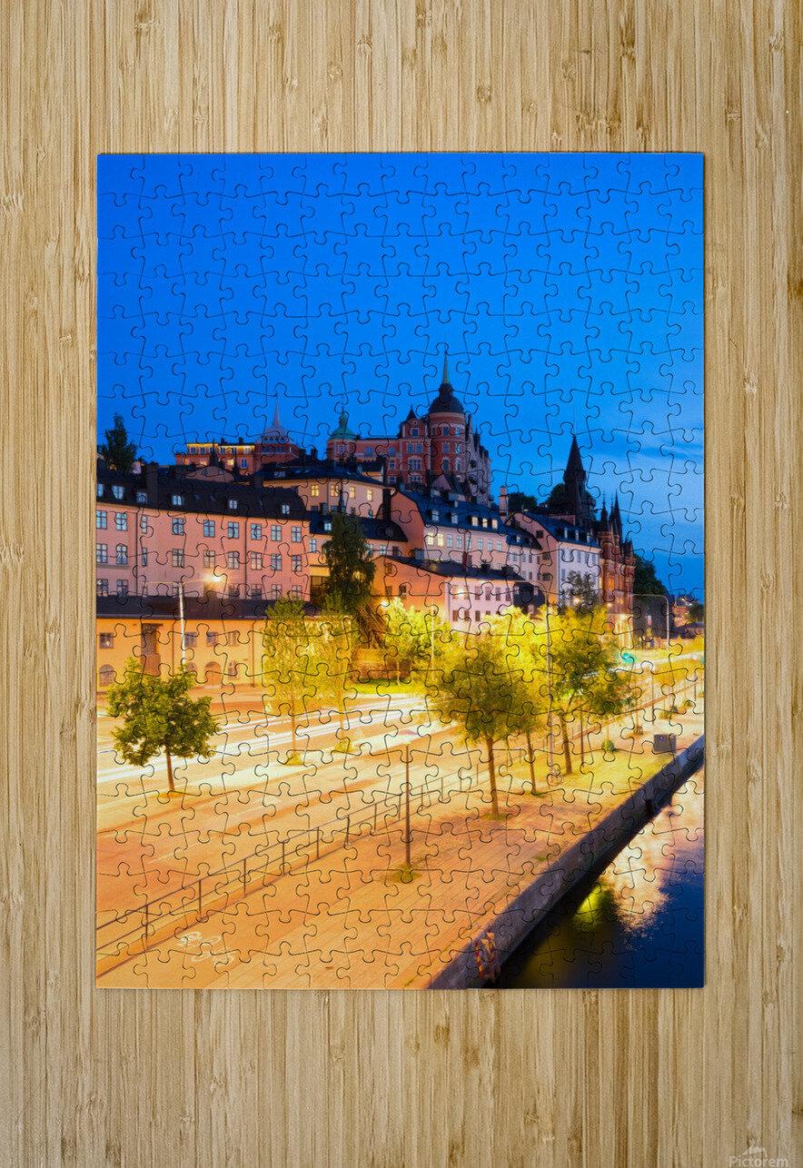 STOCKHOLM 02  HD Metal print with Floating Frame on Back