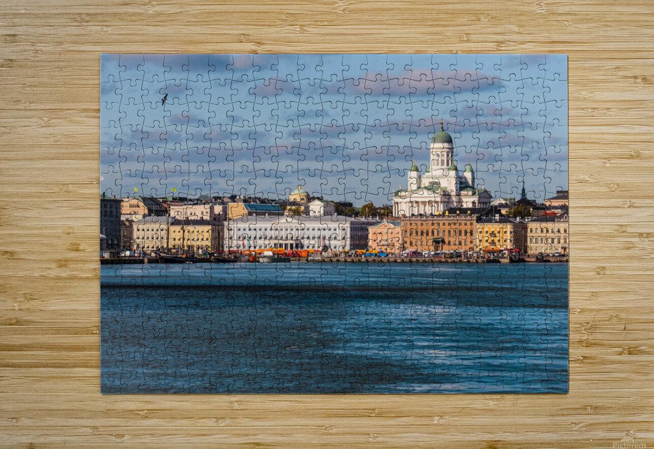 HELSINKI 01  HD Metal print with Floating Frame on Back