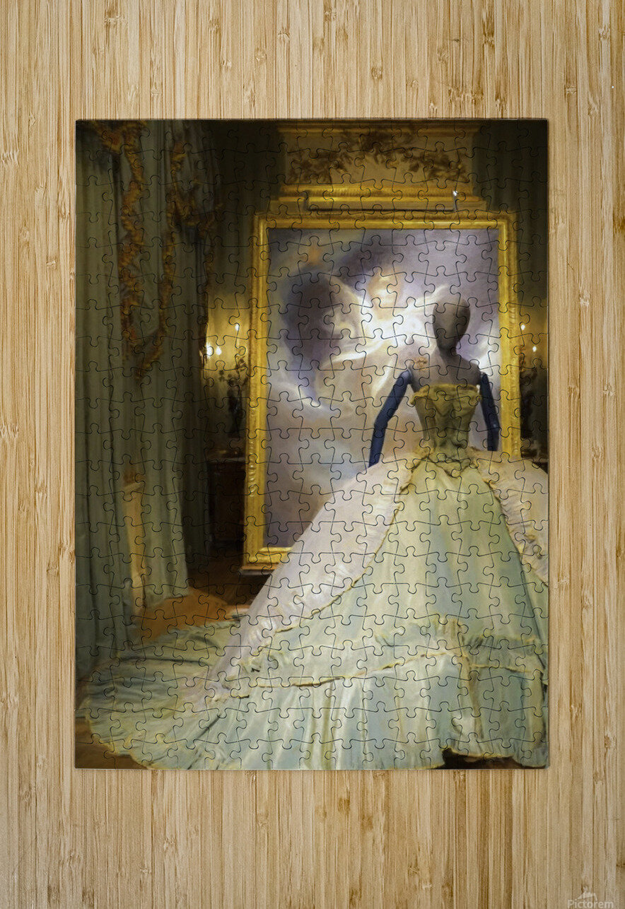 500 Years of Fashion: Chatsworth 2017 B  HD Metal print with Floating Frame on Back