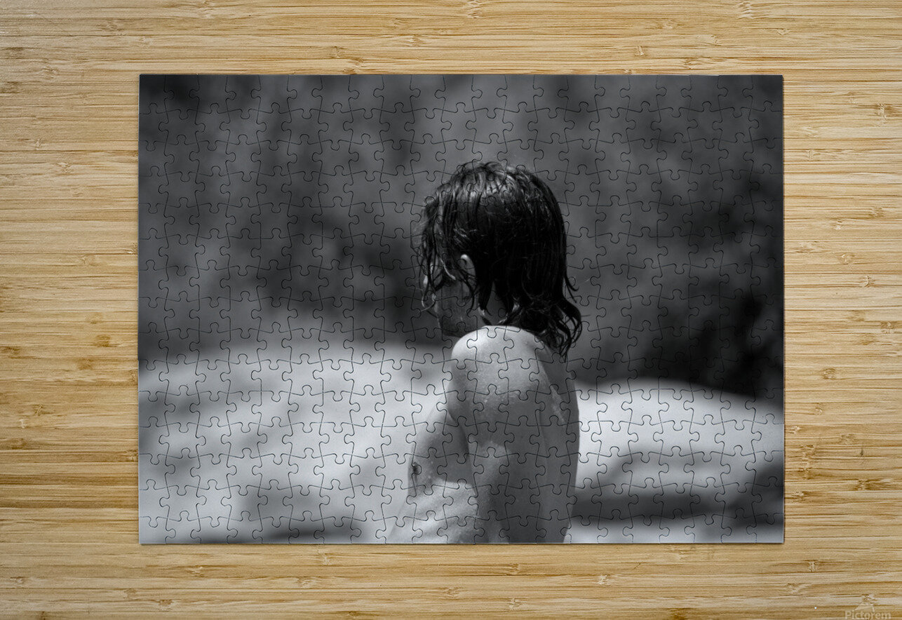 Dripping with Desire   HD Metal print with Floating Frame on Back