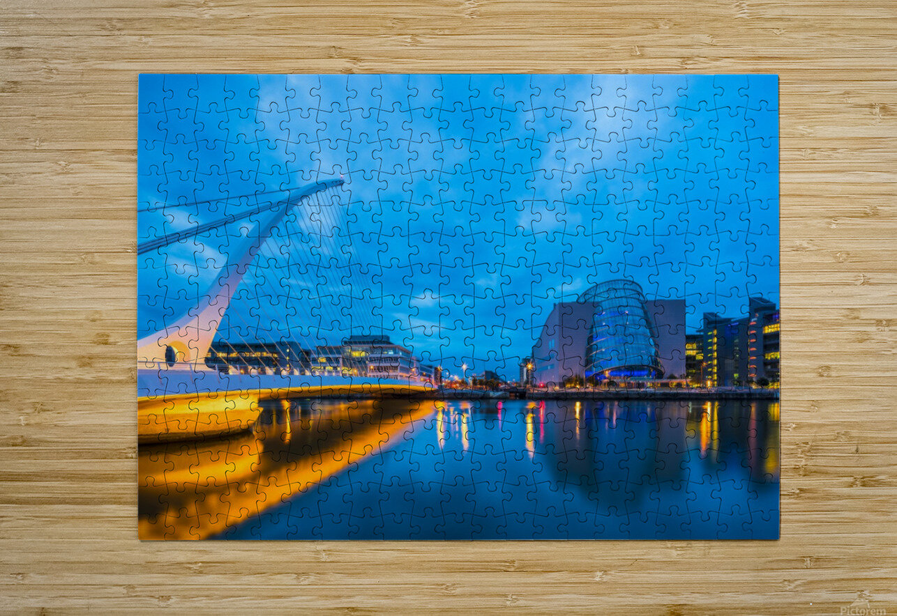 DUBLIN 01  HD Metal print with Floating Frame on Back