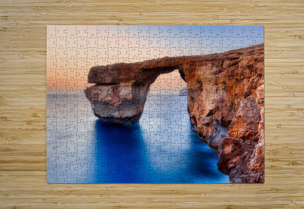 MALTA 02  HD Metal print with Floating Frame on Back