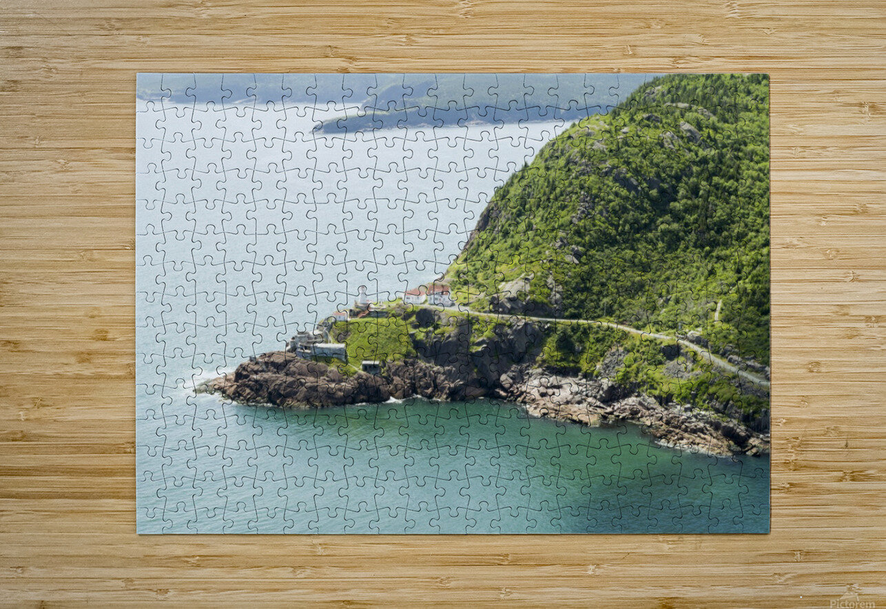 Johns Harbour from Signal Hill 2  HD Metal print with Floating Frame on Back