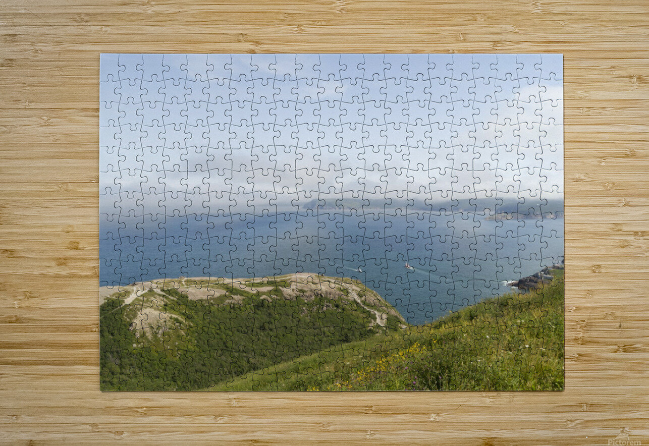 Vista from Signal Hill  HD Metal print with Floating Frame on Back