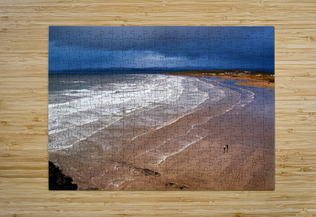 DL 006 Rossnowlagh  HD Metal print with Floating Frame on Back
