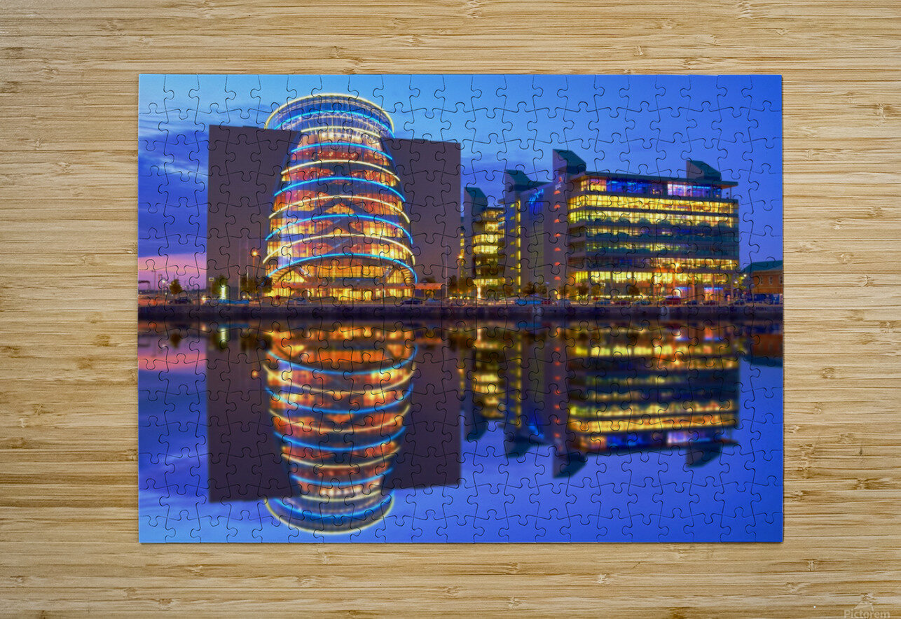 D 249 Convention Centre  HD Metal print with Floating Frame on Back