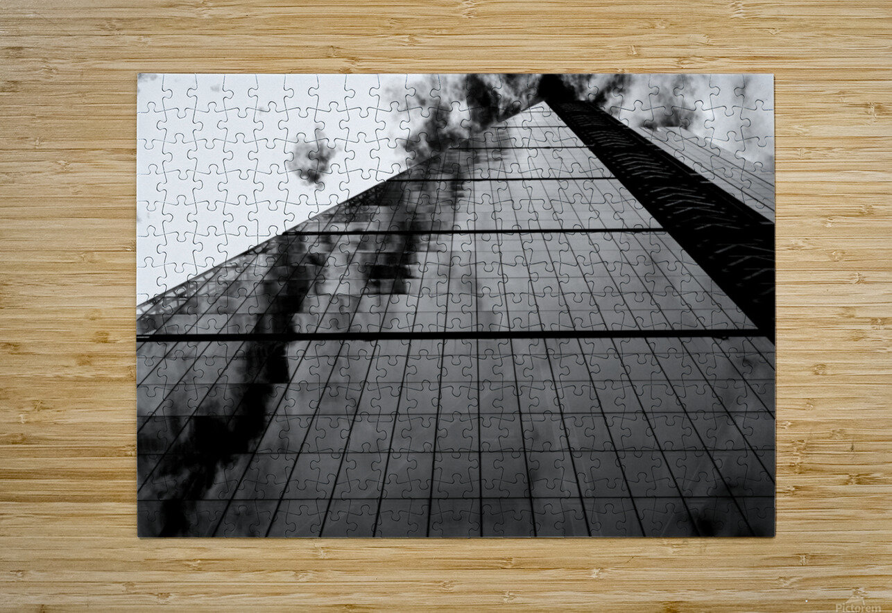 The Skyscraper  HD Metal print with Floating Frame on Back