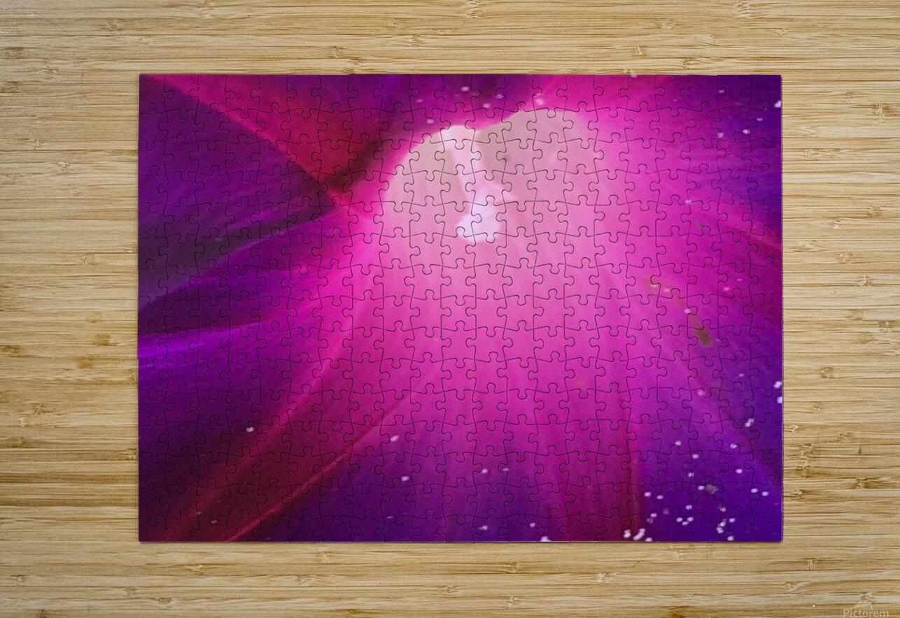Pollens   Impression métal HD avec cadre flottant sur le dos