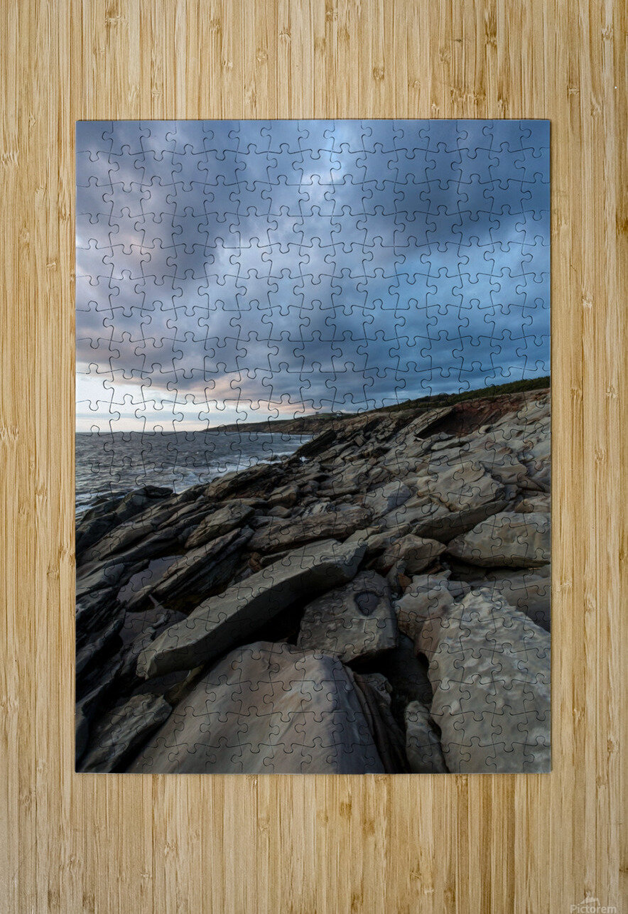 Drama in the sky  HD Metal print with Floating Frame on Back
