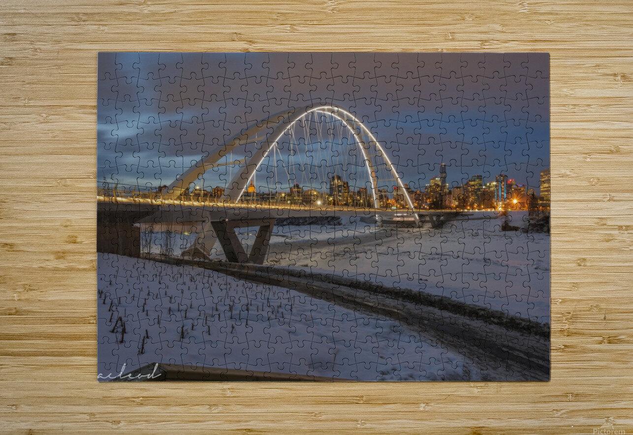 Walterdale_Bridge_NIK9890  HD Metal print with Floating Frame on Back