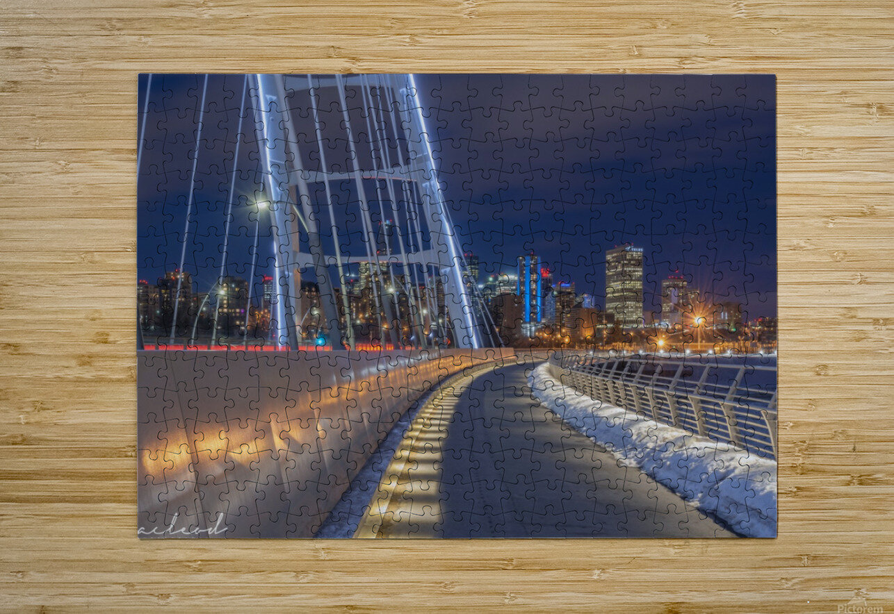 Walterdale_Bridge_NIK9898  HD Metal print with Floating Frame on Back