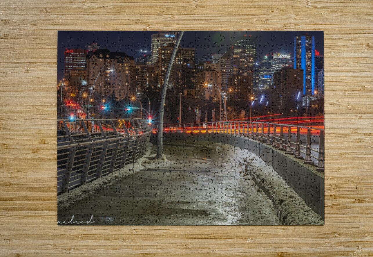 Walterdale_Bridge_NIK9912  HD Metal print with Floating Frame on Back