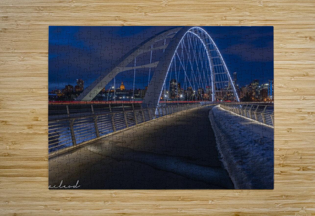 Walterdale_Bridge_NIK9895  HD Metal print with Floating Frame on Back