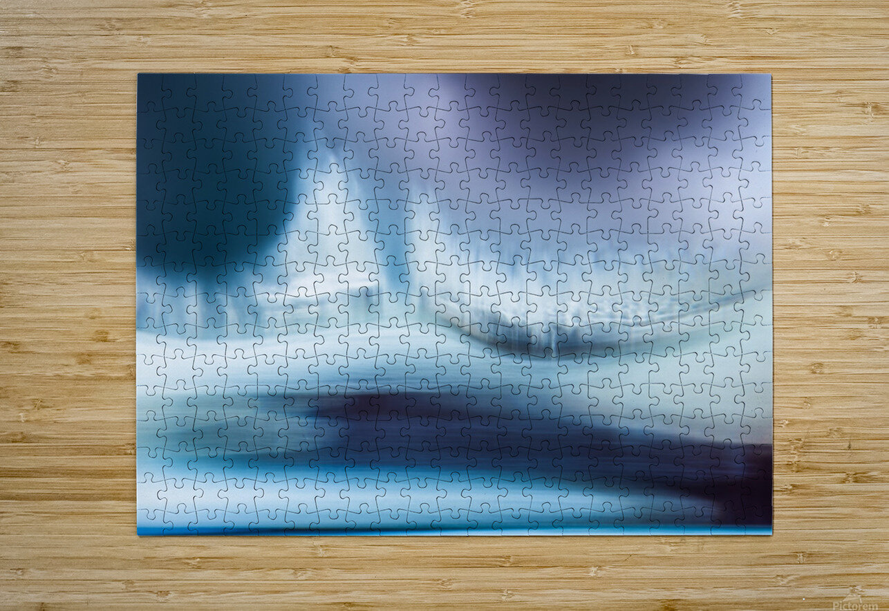 Freedom - Liberte  HD Metal print with Floating Frame on Back
