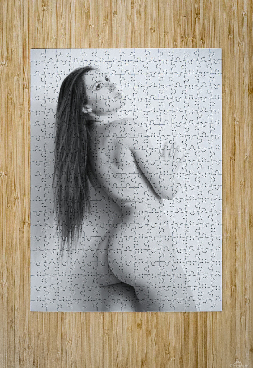 art_nude 31  HD Metal print with Floating Frame on Back