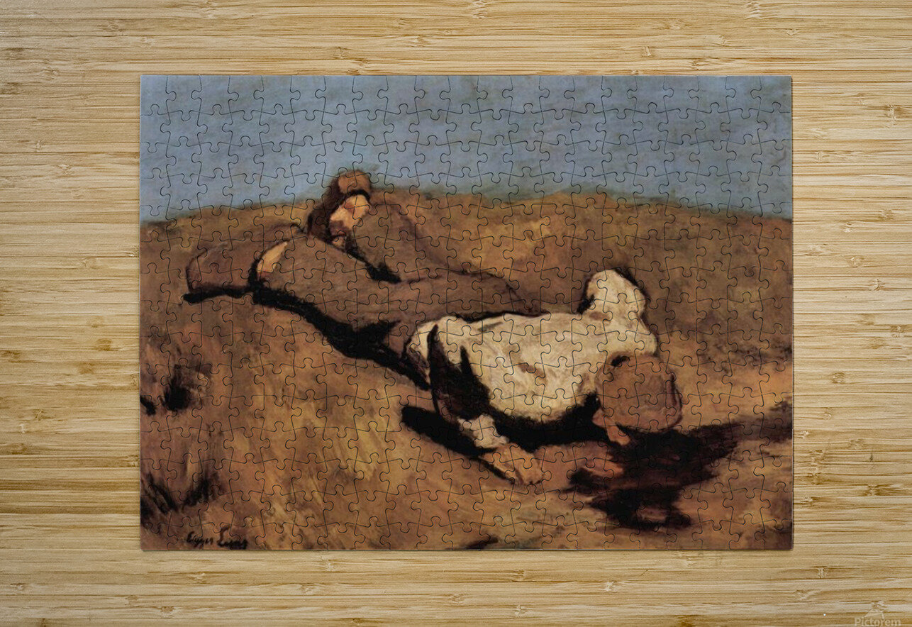 The source by Albin Egger-Lienz  HD Metal print with Floating Frame on Back
