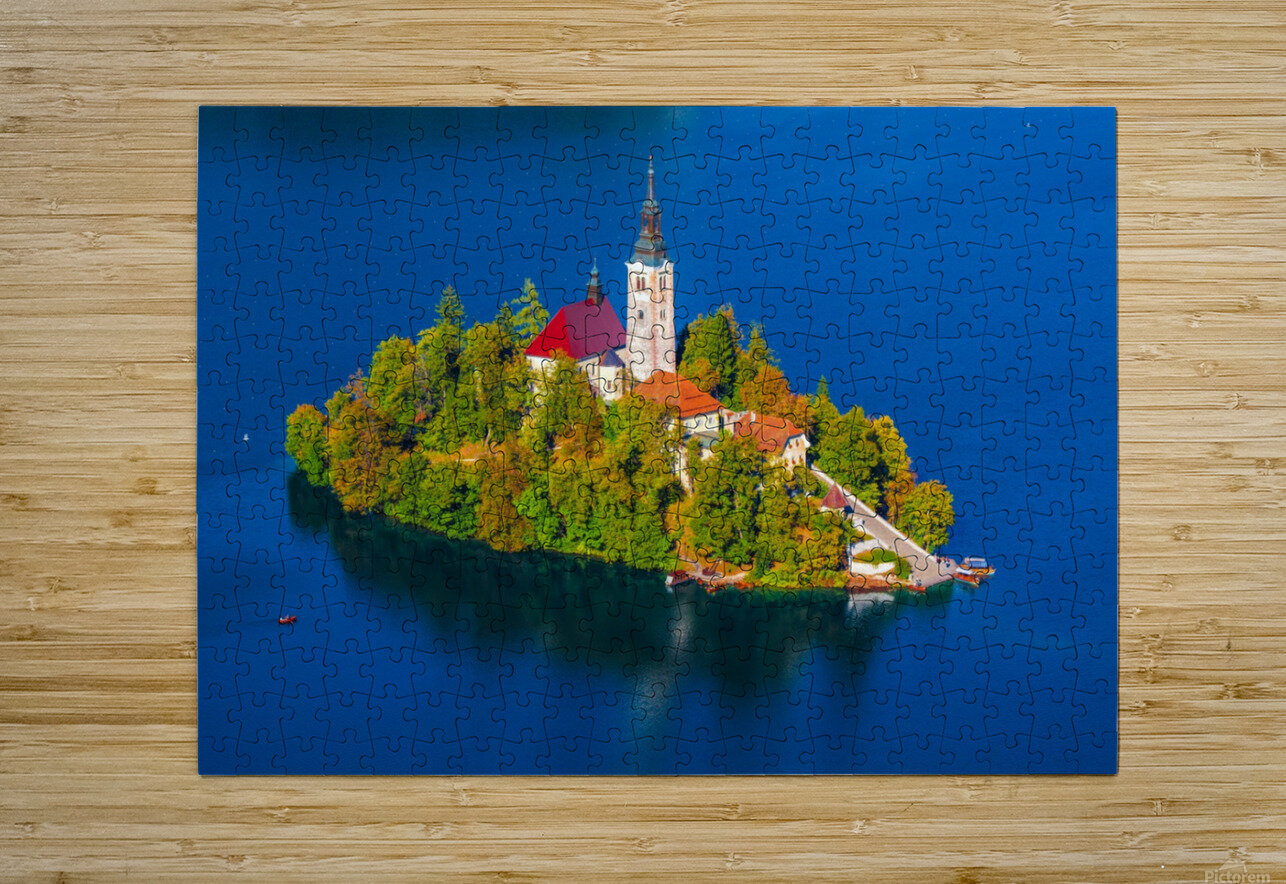BLED 03  HD Metal print with Floating Frame on Back